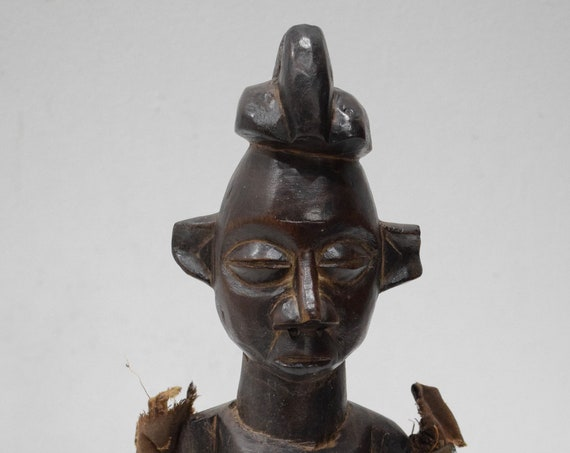 African Statue Yaka Tribe Congo Abstract Carved Figure Yaka Tribe
