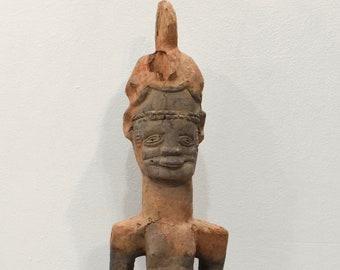 African Old Igbo Wood Statue Nigeria
