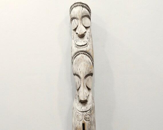 Papua New Guinea Message Slit Drum Vanuatu Tribe