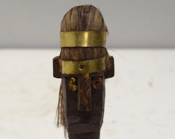 African Mask Bambara Marionette Puppet Head Mask Mali