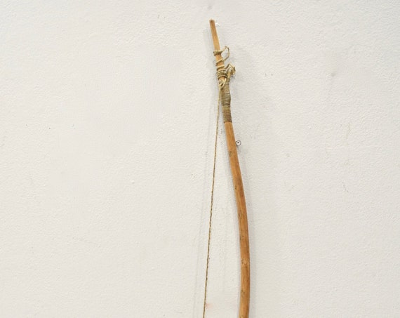 African Gogo Tribe Wooden Tribal Bow Tanzania