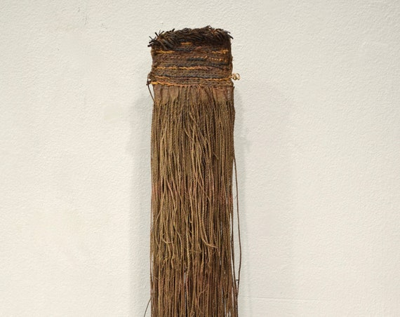 Papua New Guinea Fiber Back Skirt Chimbu Provenience Highlands