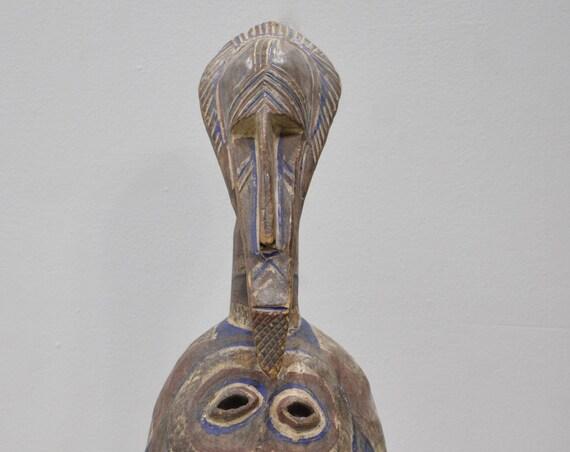 African Mask Bambara Tribe Mali