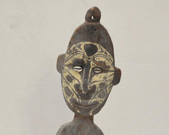 Papua New Guinea Food Hook Statue Latmul Tribe Food Hook