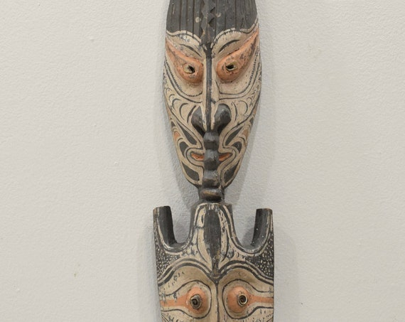 Papua New Guinea Statue Hook Iatmul Wood Food Ceremonial Hook