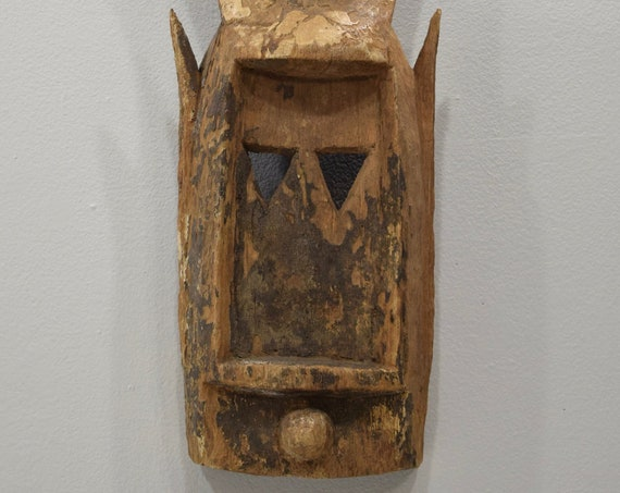 African Mask Dogon Kanga Rabbit Mask Mali Wood Dogon Mask