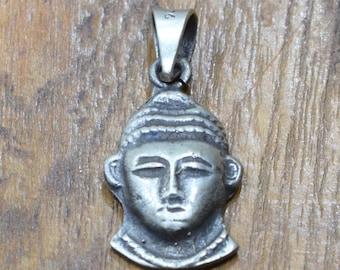 Pendant Cast Pewter Hindu Pendant