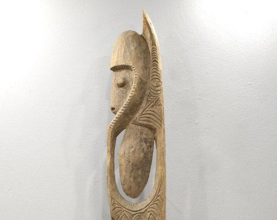 Papua New Guinea Hook Figure One Leg Yipwon
