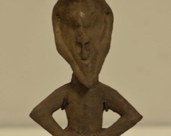 New Zealand Figure Kairu IslandsTrance Wood Dance Figure Spirit Statue