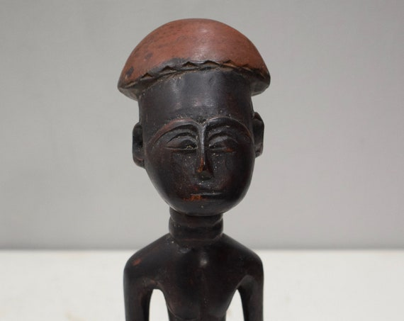African Ashanti Doll Male Figure Ghana Fertility Doll