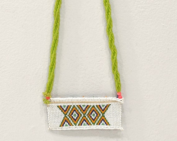African Zulu Love Letter Beaded lover Necklace RSA