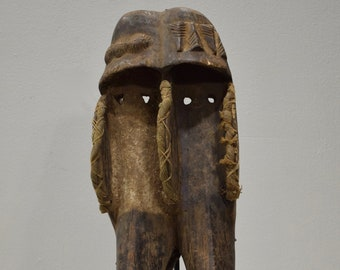 African Kono Tribe Mask Sirra Leone