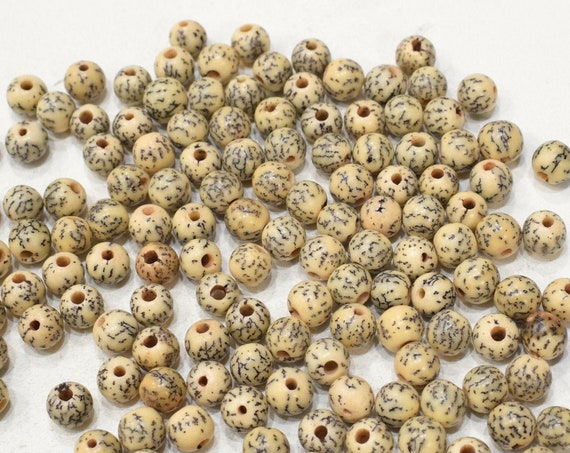 Beads Philippine Natural Betel-Nut Beads 9mm