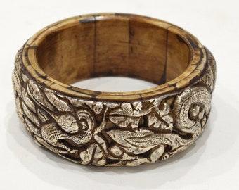 Bracelet Tibetan Silver Dragon Bangle Bracelet