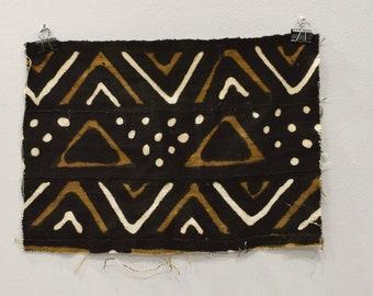 African Mudcloth Pattern Thin Strip Mali
