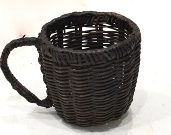 Basket Philippines Ifugao Woven Cup