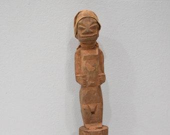 African Yoruba Dance Fetish Wood Statue