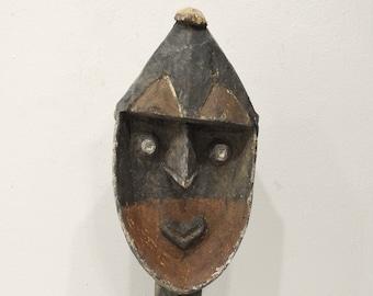 Papua New Guinea Yena Yam Spirit Statue Kwoma Tribe
