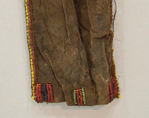 African Turkana Hide Cache Sex Modesty Girls Apron Turkana Tribe