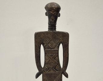 African Dan Tribe Backrest Liberia