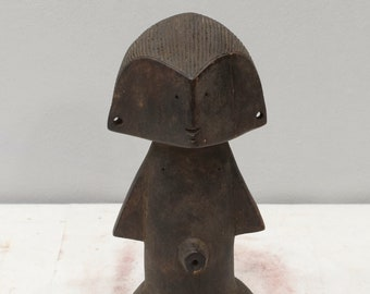 African Statue Zande Tribe Congo Abstract Carved Figure Zande Tribe