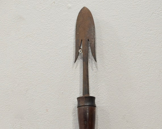 Spear Iron Wood Ifugao Tribal Spear Philippines Hand Forged Spear