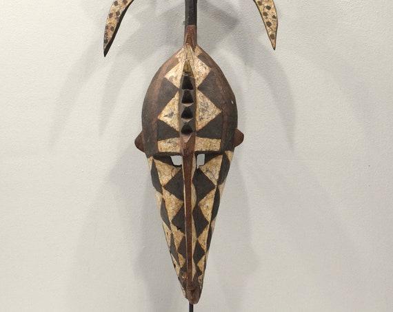 African Mask Mossi Bobo Crest Mask Burkin Faso