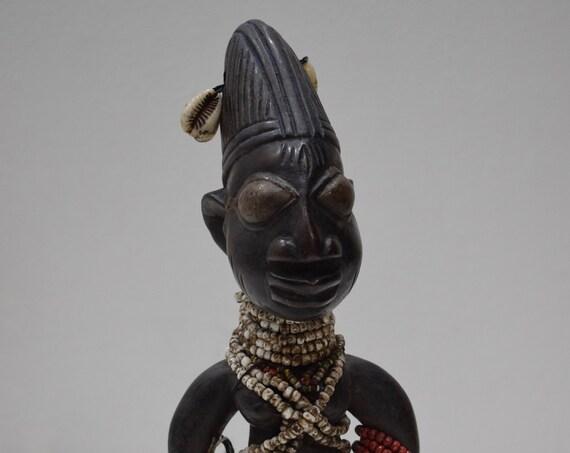 African Doll Ibeji Male Figure Yoruba