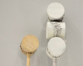 African Can Rattle Seed Shaker Rattle African Musical Instrument
