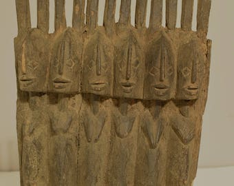 African Statue Dogon Wedding Couples Ceremonial Statue
