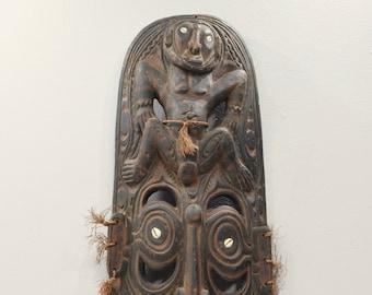 Mask Papua New Guinea Black Water Lakes Spirit Mask