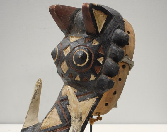 African Mask Warthog Bobo Tribe Burkina Faso Warthog Mask