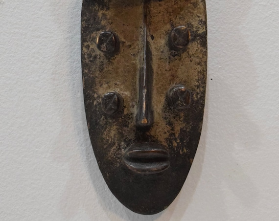 African Mask Grebo Tribe Liberia Handmade Celebrations Rituals Initiates Elders Eyes Grebo Mask