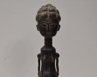 African Statue Bete Female Figure Mali