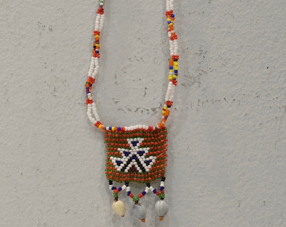 African Zulu Love Letter Beaded Necklace Lovers South Africa