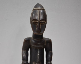 African Statue Attie Wood Figure