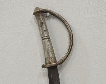 African Lobi Steel Sword Burkina Faso Ceremonial Lobi Sword