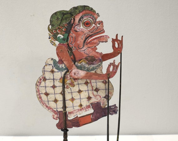 Indonesian Buffalo Hide Flat Shadow Puppet