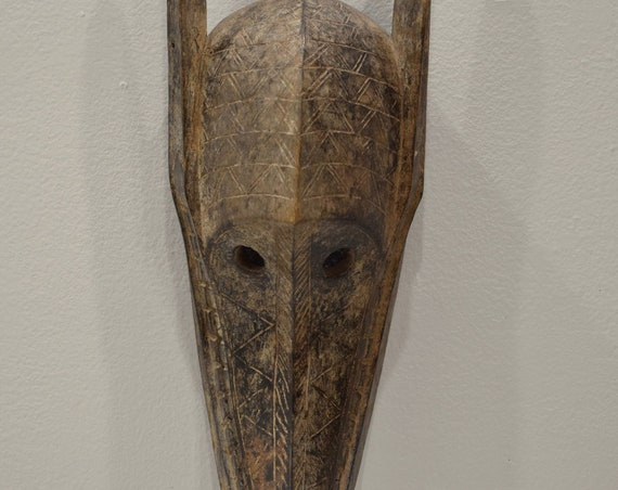 African Mask Bambara Animal mask