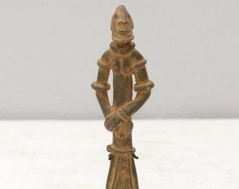 African Bronze Dogon Tribe Fetish Figure