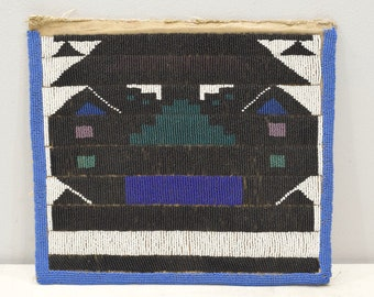 African Ndebele Tribe Colorful Beaded Puberty Apron Ndebele Tribe RSA