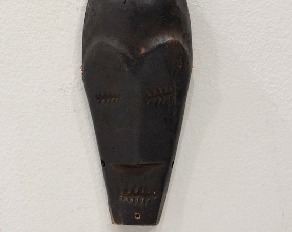African Mask Lega Passport Wood Mask DRC