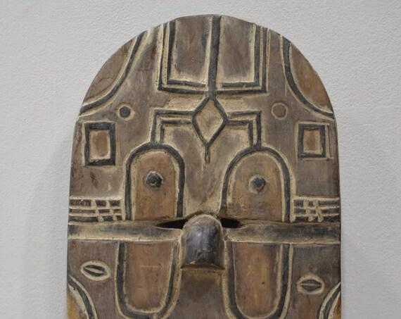 African Mask Teke Tribe Congo Teke Face Mask
