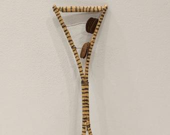 African Fork Sistrum Double Shaker Rattle