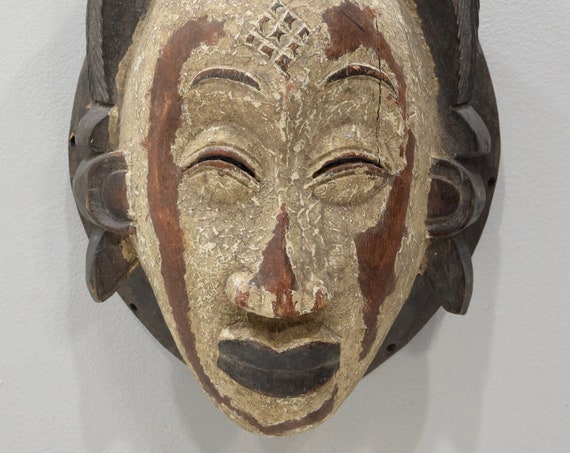 African Mask Male Punu Mask Gabon