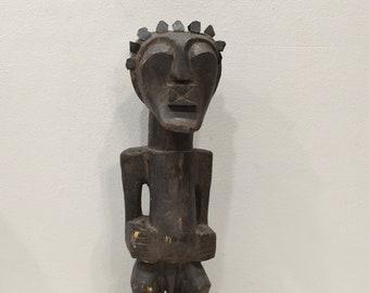 African Statue Songye Fetish Figure Statue