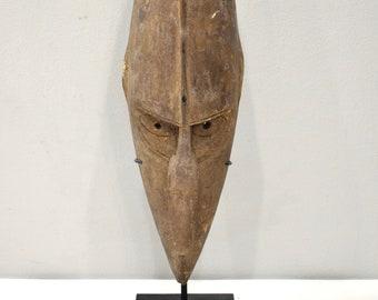 Papua New Guinea Mask Barak BoikenTribe Wood Ceremonial Barak Mask