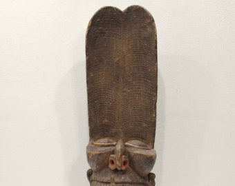 Mask African Bamileke Batcham Chair Headdress Mask