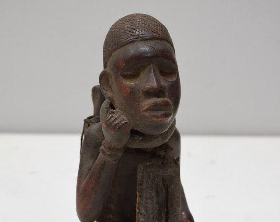 African Fetish Congo Wood Fetish Statue