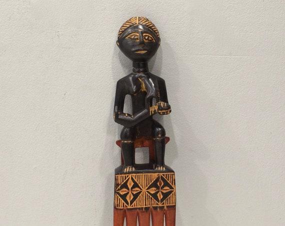 African Ashanti Comb Ghana Presitge Status Comb Mother & Child
